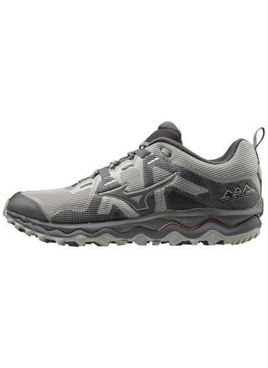 Mizuno Wave Mujin 6 Erkek Koşu Ayakkabısı Gri/Koyu Gri Gri
